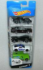 Hot Wheels Batman 75th Anniversary 5 Car Collection Pack - NISB