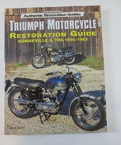 Details about Motorbooks International Triumph Motorcycle Restoration Guide  Bonneville & TR6
