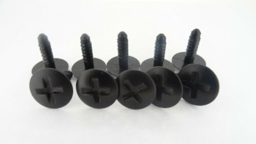 Nissan moteur Grille Couvercle De La Batterie Trim vis clips de fixation 10X