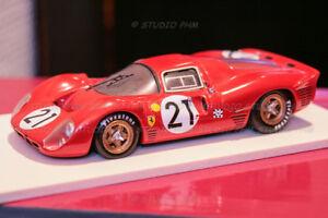 Ferrari 330 P3 N ° 21 2 ° 24h Mans 67 Amr Annecy Miniature 1h43 No Brbr / box / bang
