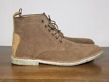 ASOS DESIGN desert boots in tan leather