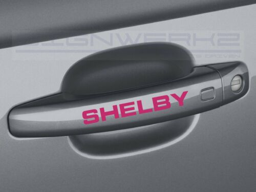 Shelby Handle Decal Sticker logo ford svt GT Mustang Fusion Pair