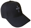 Black-Christian-Cross-Religious-Baseball-Cap-Caps-Hat-God-Jesus-White-Stitch-OL thumbnail 1