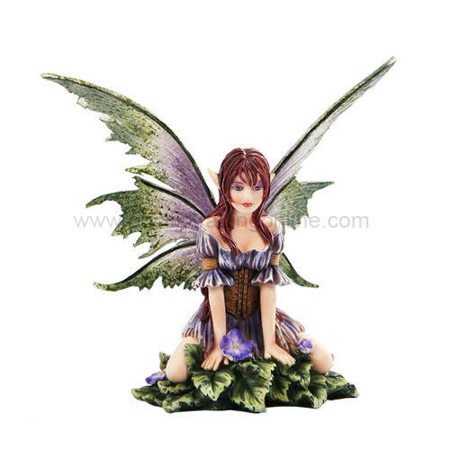 Wild Flower Fairy Figurine - Amy Brown Statue Collection