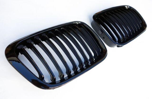 Parrilla Riñones para BMW Serie 3 E46 M Berlina Touring Compact negro brillante
