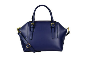 Borsa-donna-Bag-leather-in-vera-pelle-blu-bag-genuine-blue-leather-made-in-Italy