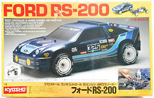 Vintage 1989 Kyosho 1/10 RC Ford RS200 NIB