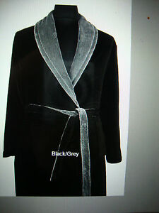 Espionage Micro Fleece Dressing Gown For Big Men 2xl 3xl 4xl 5xl 6xl