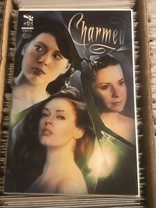 CHARMED 10 ROSE MCGOWAN PAIGE ALYSSA MILANO HOLLY MARIE COMBS SEIDMAN COVER 2011
