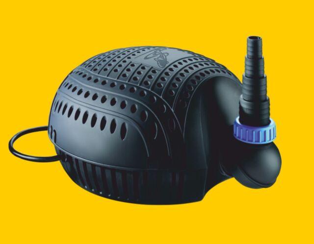 OSAGA Teichfilterpumpe Schwarze Flunder ECO OSF-9500E  Bachlauf u Teichpumpe