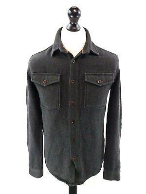 Camicia Da Uomo Jack Wills Xs Grigio Cotone Di Spessore-mostra Il Titolo Originale