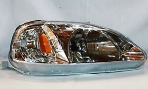 Right-Side-Replacement-Headlight-Assembly-For-1999-2000-Honda-Civic