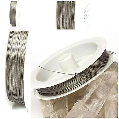 Edelstahl-Seide Stärke 0,30-0,80 mm zum Basteln für Schmuck Schmuckdraht