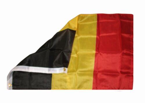 2x3 Belgium Flag 2/'x3/' House Banner Grommets Super Polyester Premium