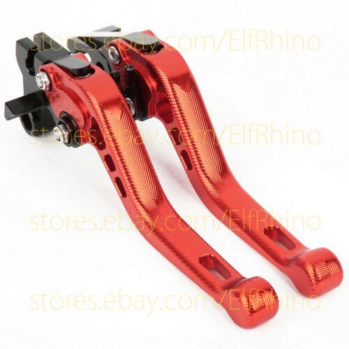 For Kawasaki Z300 2013-2016 3D Anti-Slip Brake Clutch levers