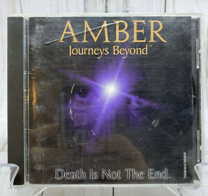RARE Amber Journeys Beyond PC Game Windows 95 CD Rom Windows 95 Death Is Not End