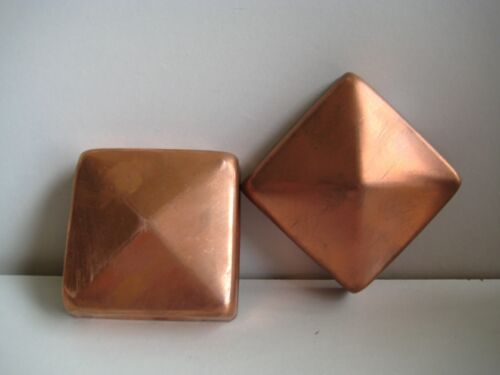 Pfostenkappe 91x91 Kupfer Pyramide Zaunkappe Abdeckung