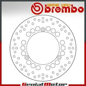 Disque-de-frein-fixe-Brembo-Serie-Oro-arriere-YAMAHA-X-MAX-ABS-400-2014-gt-2016