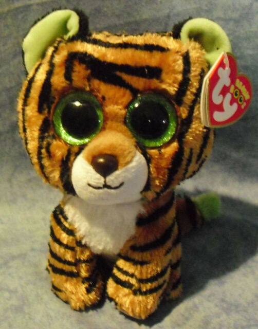 f1fc0101045 Ty UK 15cm Stripes Beanie Boo Plush. Delivery for sale online