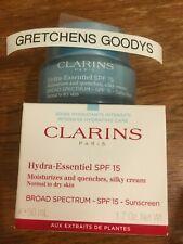 Clarins Hydra-essentiel Silky Cream SPF 15 Normal to Dry Skin 50ml Moisturizer