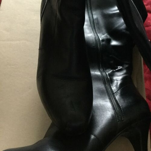 From 6 Boots Sides size Black With Both Zips Next Z0qFCBw