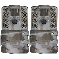 2 Pack Moultrie A-35 14MP Low Glow Infrared Game Trail Camera
