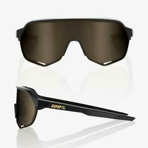 100-S2-MATTE-BLACK-SOFT-GOLD-LENS