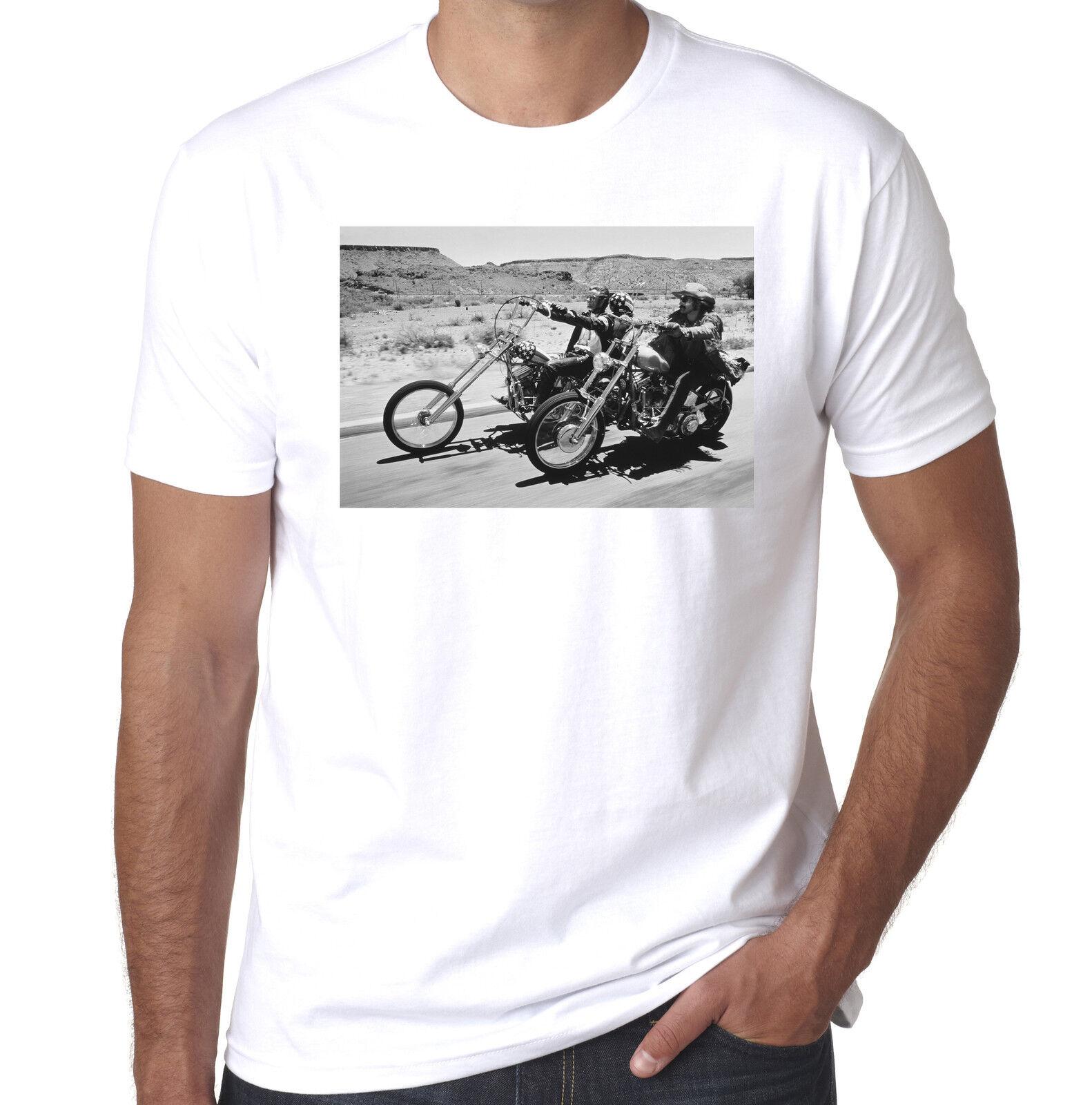Easy Rider Peter harleys Fonda Dennis Hopper harleys Peter culte années 60 pour homme 100% coton NEUF 39e0d4