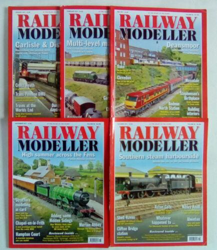 Railway Modeller Magazine Volume 68 Numbers 796 - 805 February - November 2017