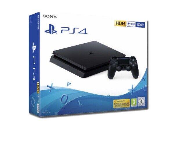 Console Sony Playstation 4  500GB F CHASSIS SLIM BLACK