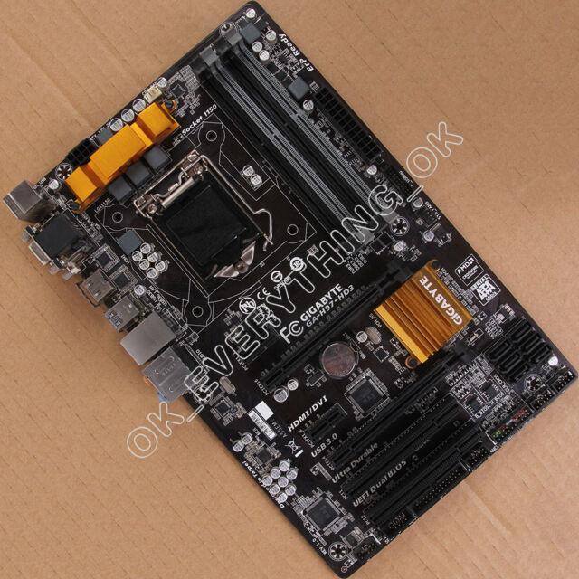 Gigabyte GA-H97-HD3 LGA 1150 Motherboard Intel H97 DDR3 ATX