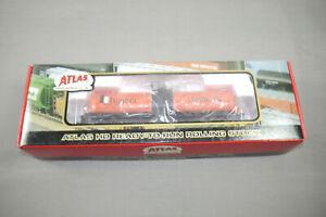 Atlas-H0-1556-2-17-360-Galon-Coche-Tanque-Hooker-1268-con-Caja-Orig-K43