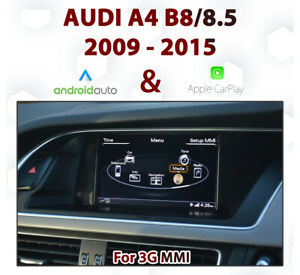 Audi-A4-B8-B8-5-2009-2015-3G-MMi-Integrated-Touch-Android-Auto-amp-CarPlay