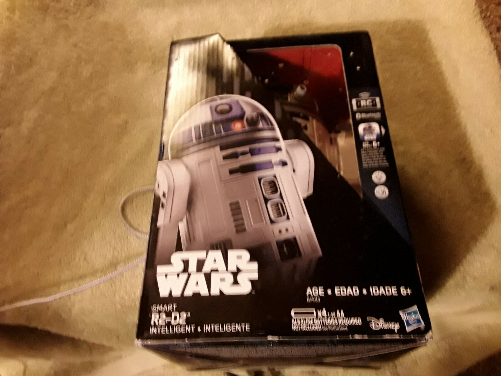 Star Wars Smart R2-D2 Exclusive App-controlled Droid Communicates Fast Shipping