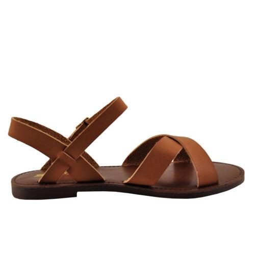 Womens Shoe Soda Mermaid-S Open Toe Criss Cross Sandals Tan *New*