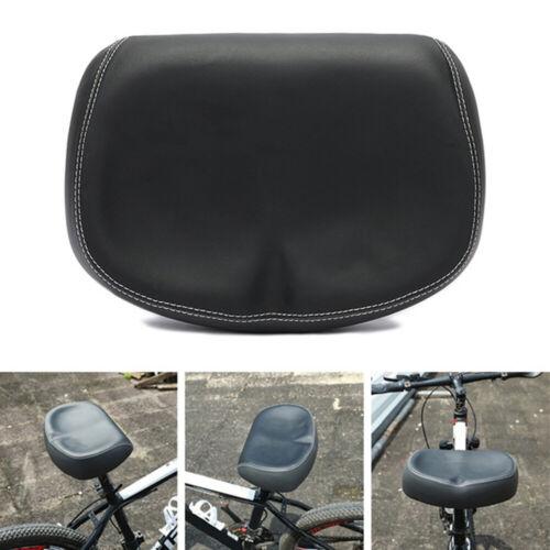 Big Ass Bike Bicycle Cycling Noseless Saddle Wide Large Soft PVC PU Pad Seat
