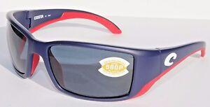 12553d20b57 Image is loading COSTA-DEL-MAR-Blackfin-580P-POLARIZED-Sunglasses-USA-