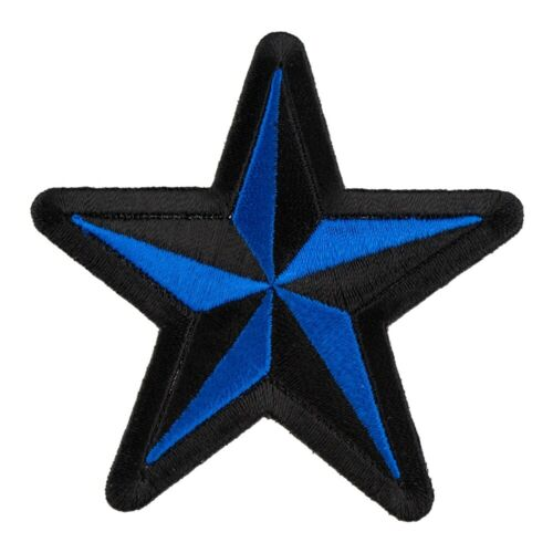 Star Patches Nautical Star Blue /& Black Patch