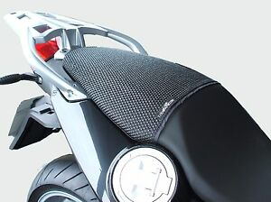 2010-2019 Triboseat Anti Slip Motorcycle Passenger Seat Cover Black Accessory Compatible With BMW S1000RR