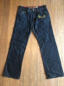 Jeans taille basse 73 W34 slim London Pepe L32 Bleu 4qwZZBE