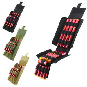 Pouch-Shotgun-Shell-Cartridge-Ammo-Carrier-MOLLE-Pouch-Holder-12-Gauge