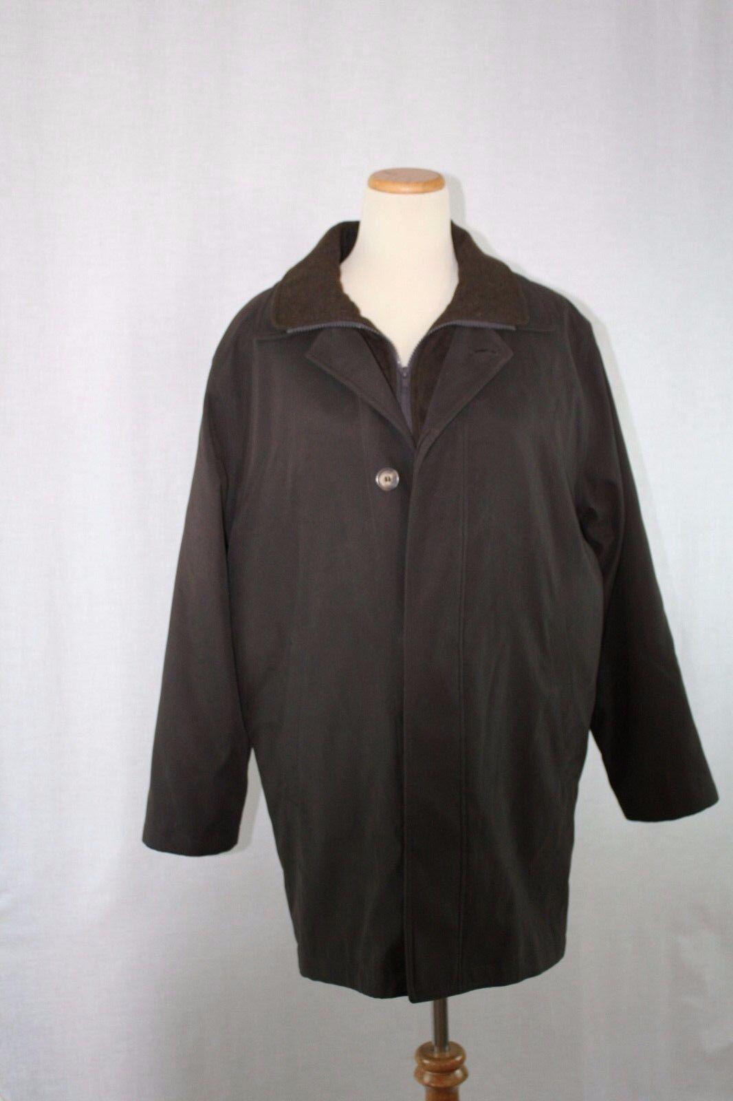 Ralph Lauren  Herren Edgar Rain/Winter Coat Größe 40S  Chocoate with Braun Liner