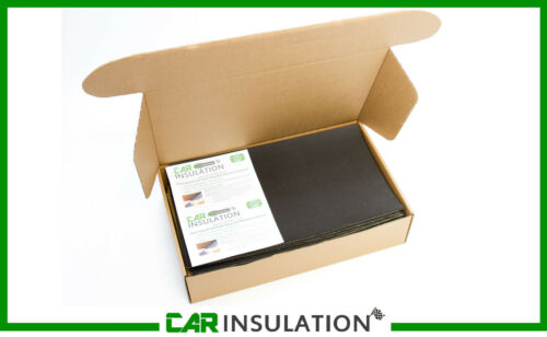 6 Large Sheets Car Van Sound Proofing Deadening 6mm Insulation Closed Cell Foam