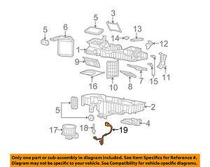 gm oem evaporator heater wiring harness 89019303 ebay rh ebay com