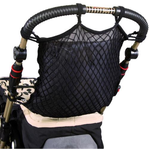 Kinderwagennetz Netz Kinderwagen für Einkaufsnetz Sichtschutz Sunnybaby schwarz
