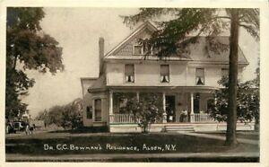 Alden-New-York-C-1910-Dr-CC-Bowman-039-s-residence-Stone-postcard-7085