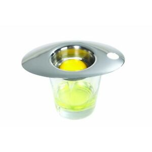 ACCIAIO-Inossidabile-Deluxe-uovo-separatore-Master-Class-Tuorlo-Cucina-Bianco