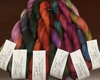Prism Delicato Hand Dyed Tencel Yarn Landscape Vest Kit - Indian Summer