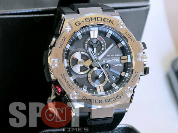 95239048416 Casio G-shock Gst-b100-1a G-steel Mobile Link Analog Digital Solar Powered  Watch for sale online