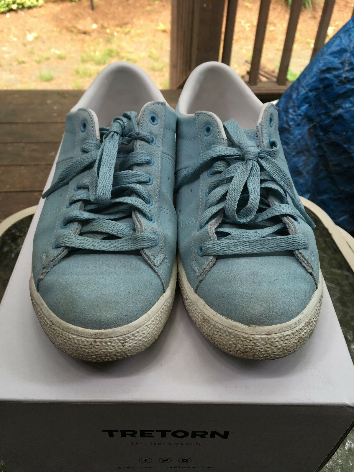 Women blue Onitsuka Tiger casual shoes size 7 Comfortable and good-looking